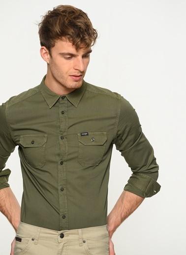 Wrangler Gömlek Yeşil